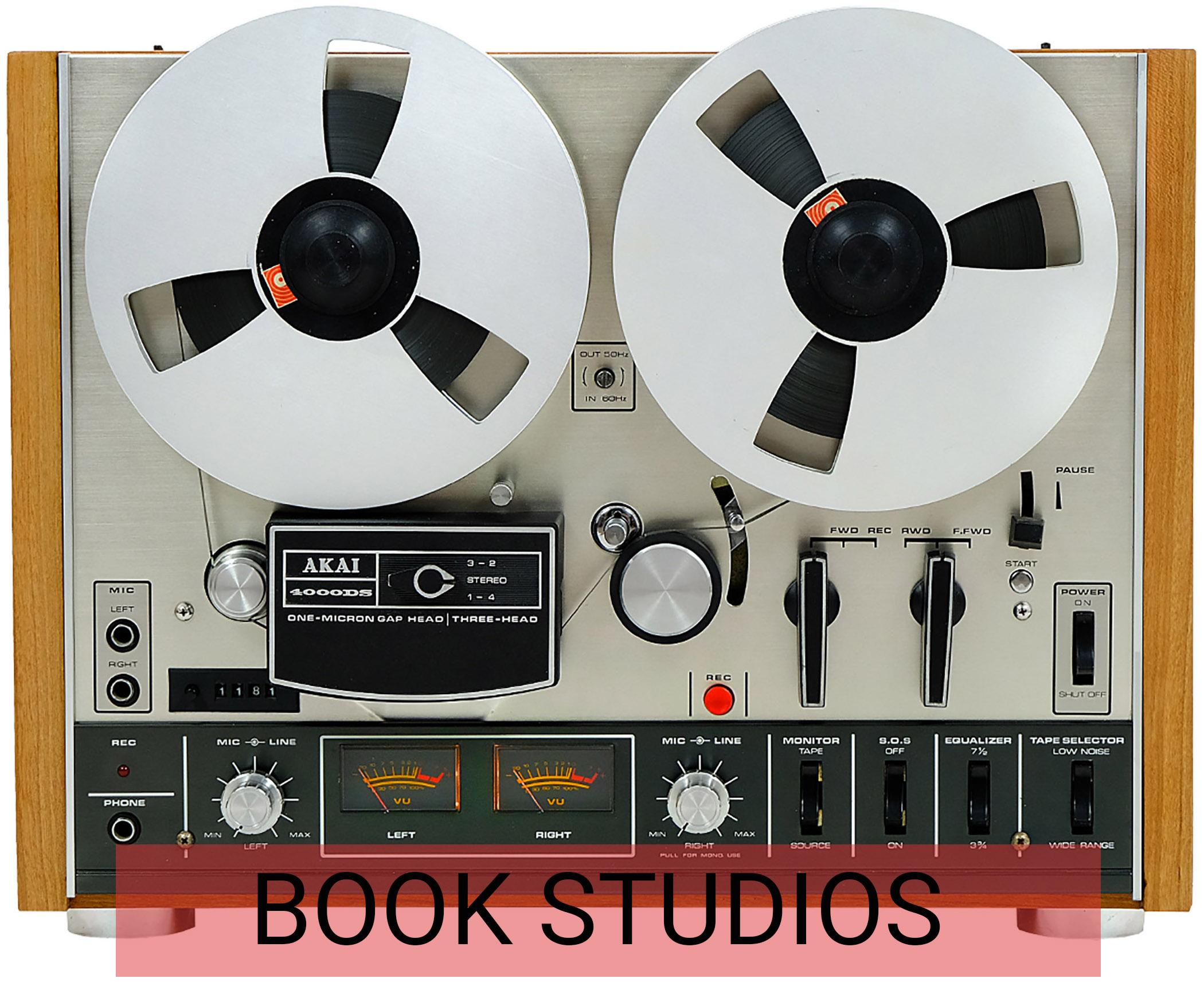 Book Recording Studios